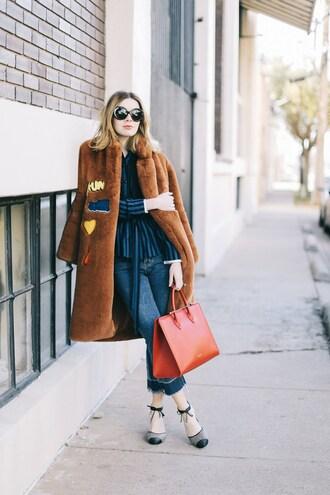 sea of shoes blogger jeans bag sunglasses shoes