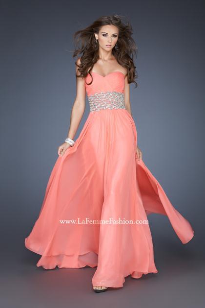 La Femme Homecoming Dresses 18515 at Peaches Boutique