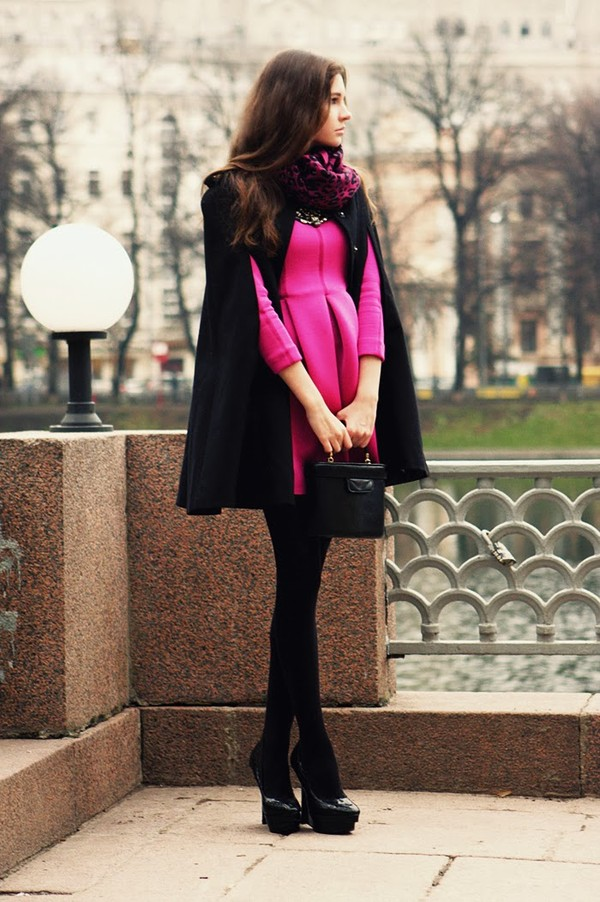 oh my blog dress scarf bag jewels shoes