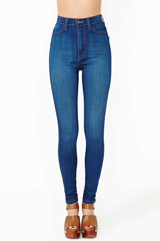 Perfect Ten Skinny Jeans in  Clothes at Nasty Gal
