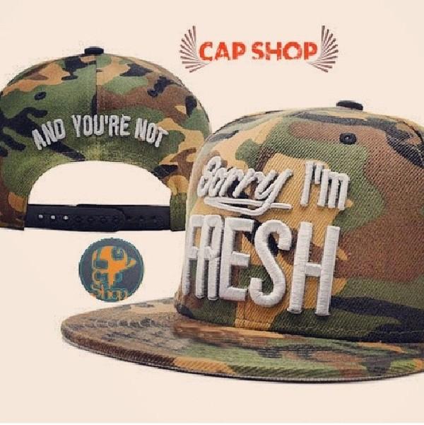 hat snapback camouflage cap shop