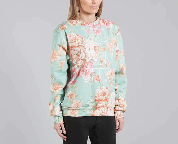 Aloha From Deer Multicolor Our Deer Sweatshirt on sale at L'Exception