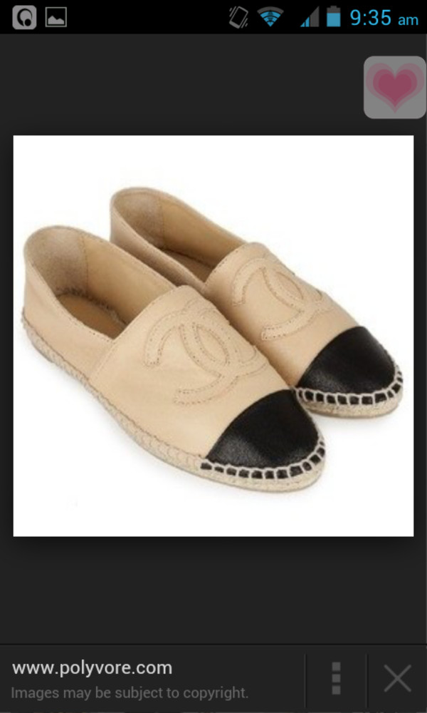 shoes nude chanel flats