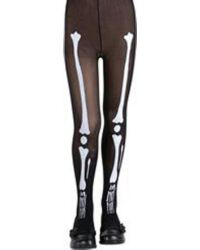 Bone Tights - Child $3.89 - Girls Costumes | Kids Halloween Costumes