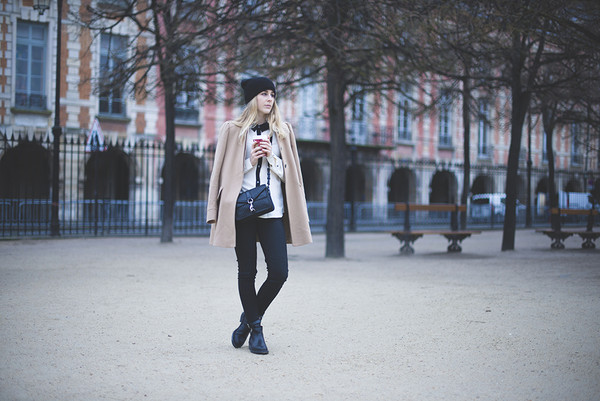 tiphaine's diary coat shirt jeans shoes bag