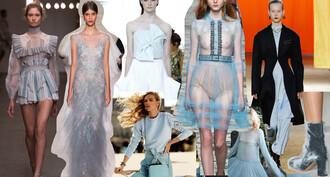 zanita blogger blue dress light blue ice blue couture dress