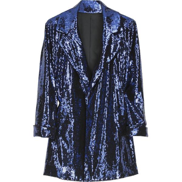 Diane von Furstenberg Short Didi sequined jacket - Polyvore