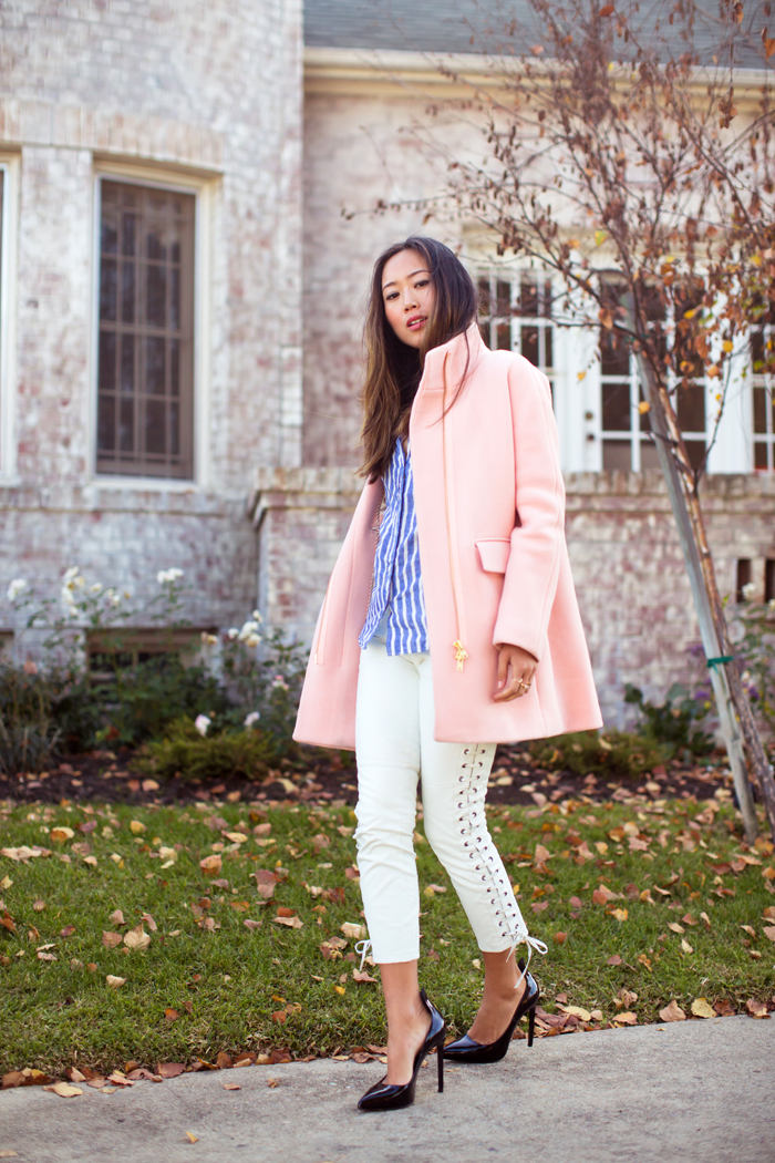 Pink Cocoon Coat | Song of Style