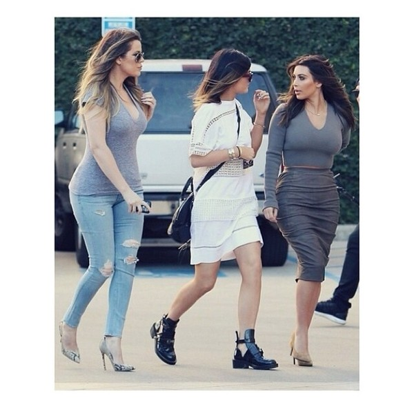 shoes celebrity style kylie jenner ankle boots
