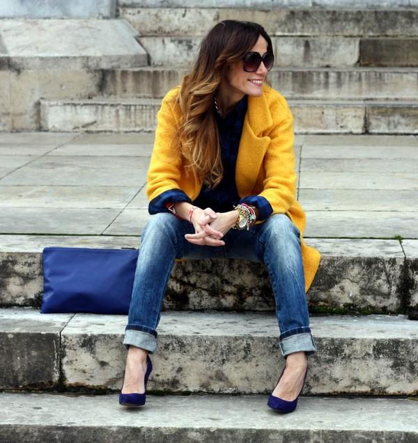 rebel attitude coat t-shirt jeans shoes bag