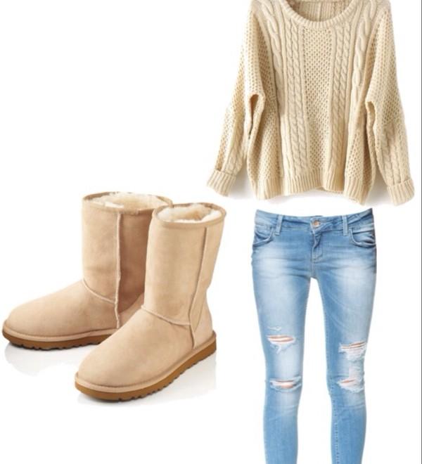jeans sweater shoes zara