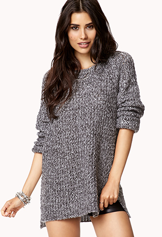 Static Print Sweater | FOREVER21 - 2059638811