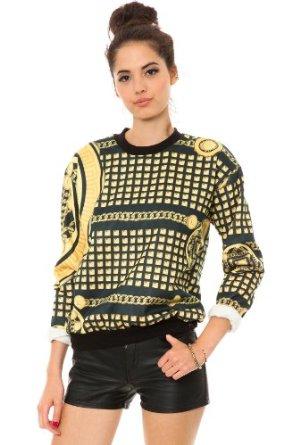 Amazon.com: Civil Women's Golden God Crewneck: Clothing