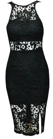 Raw Glitter | Sera Lace Dress - Black or White, Sexy Lace Dresses | RawGlitter.com