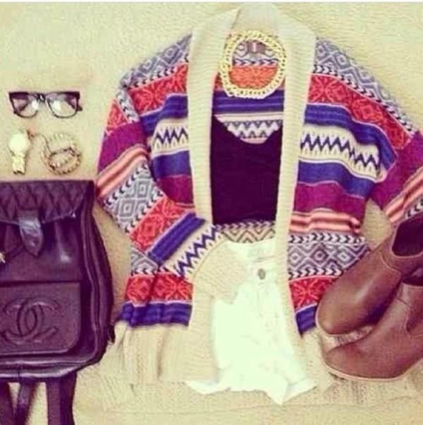 blouse tank top shorts shoes bag jewels