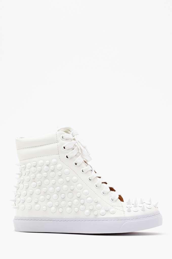 Jeffrey Campbell Alva Spike Sneaker  in  Shoes Sneakers at Nasty Gal
