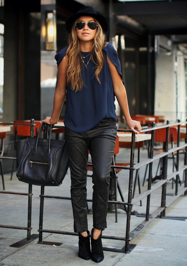 sincerely jules blouse pants shoes hat jewels