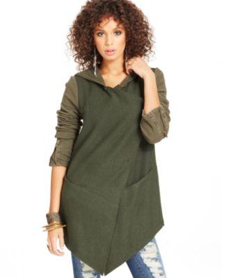 Free People Sweater, Long-Sleeve Striped Fringe - Sweaters - Women - Macy's