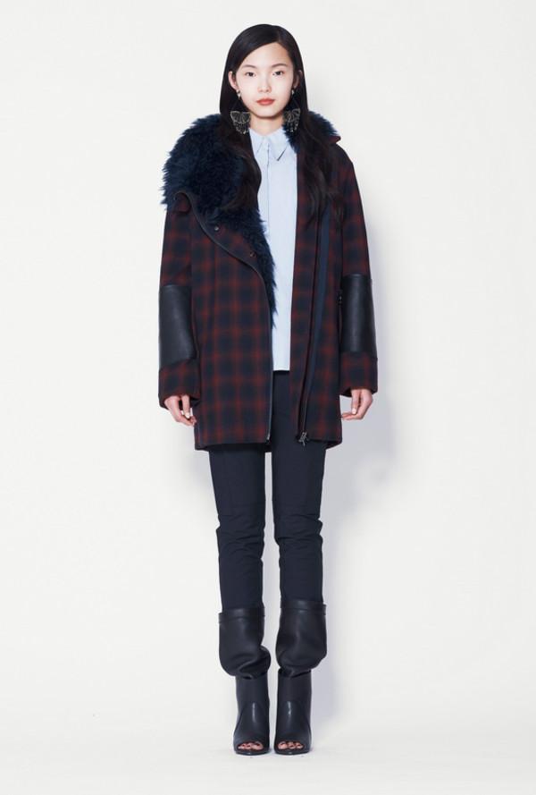 coat lookbook fashion phillip lim shirt pants shoes