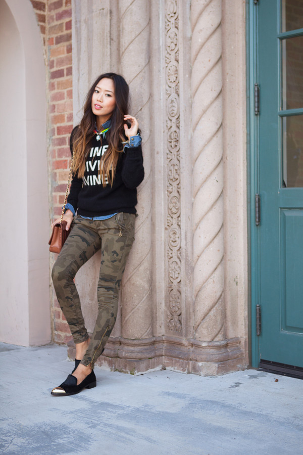song of style sweater shirt pants bag jewels