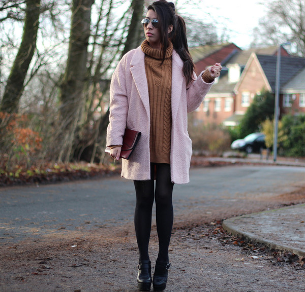 article 21 coat sweater shoes jewels sunglasses bag