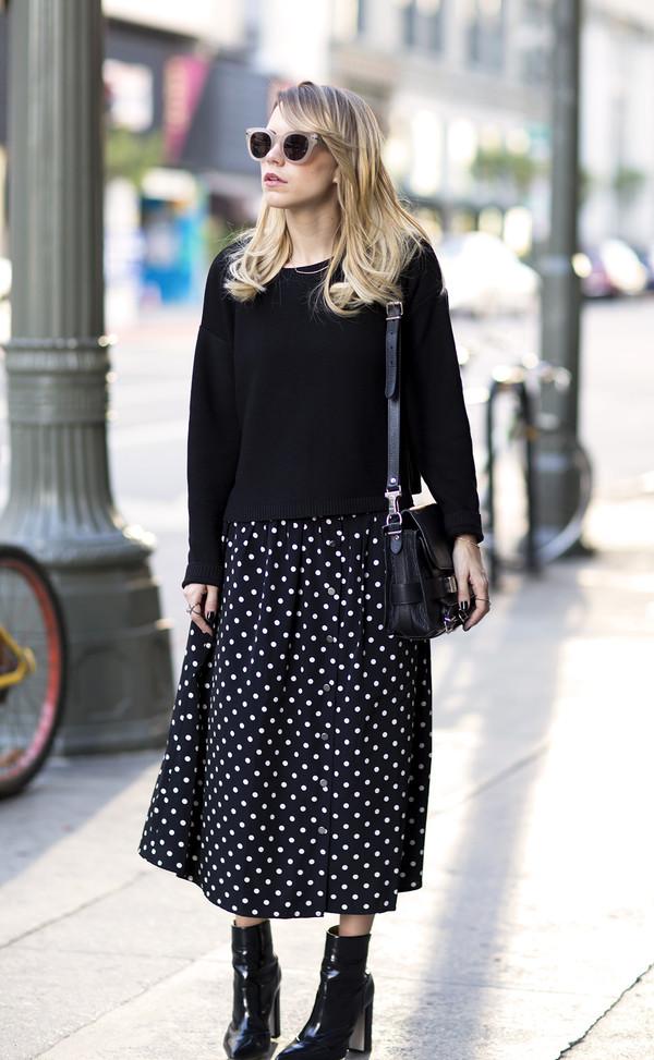 always judging sweater skirt sunglasses shoes bag jewels shorts