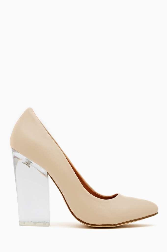 Shoe Cult Minx Pump - Nude  in  Shoes Heels Pumps at Nasty Gal