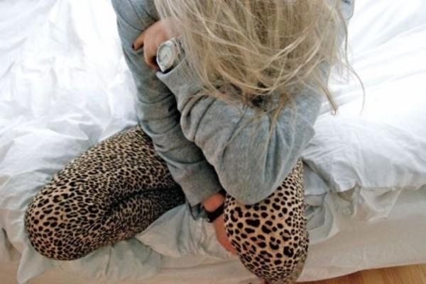 pants leggings printed leggings leopard print animal print