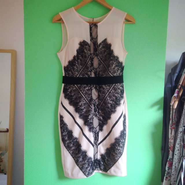 Three floor inspired lace dress / ... | Diane Le | Depop