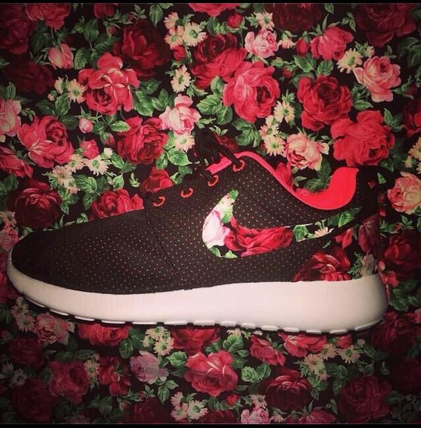 shoes nike roshe run black and red nike running shoes nike sneakers