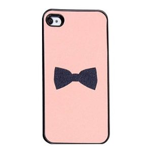 Amazon.com: Flash Design Bowknot Pattern Hard Case for iPhone 4/4S: Cell Phones & Accessories