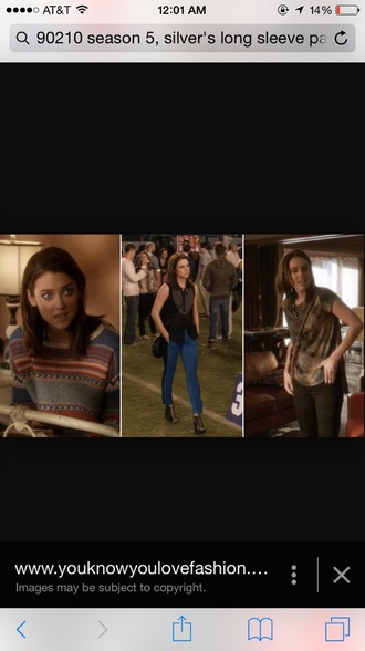 sweater 90210 pattern jessica stroup style love indie