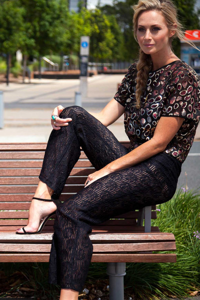 Wicked Games Lace Pant                           | Citizen Collective
