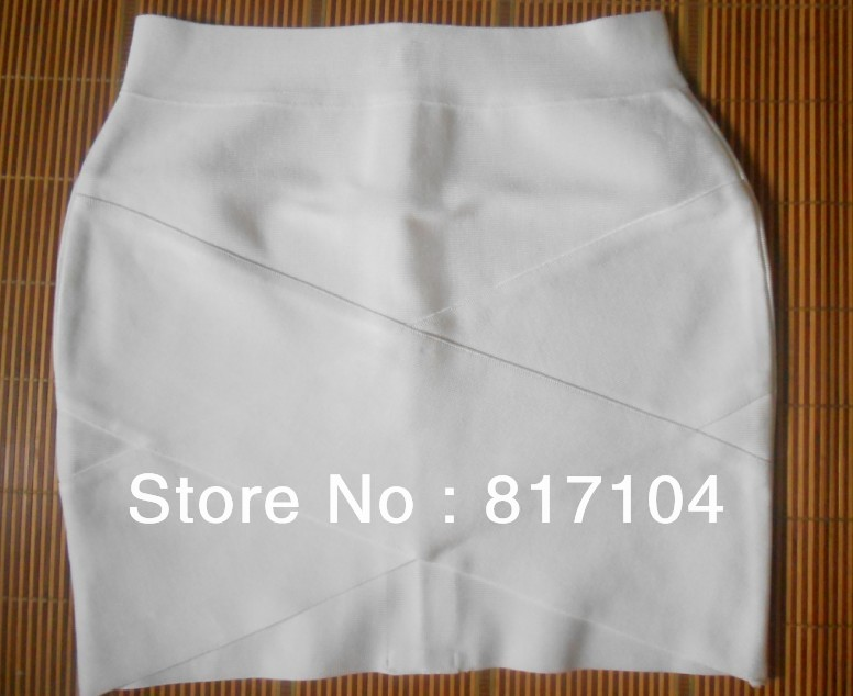 in stock 2013 lastest hot sell Knitted white LOW CUT V Skirt Bandage Office Skirt Fashion  Party Skirt hl wholesale 8 colors-in Skirts from Apparel & Accessories on Aliexpress.com