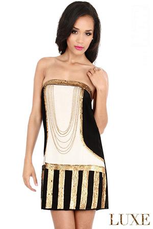 Decadent Flapper Dress