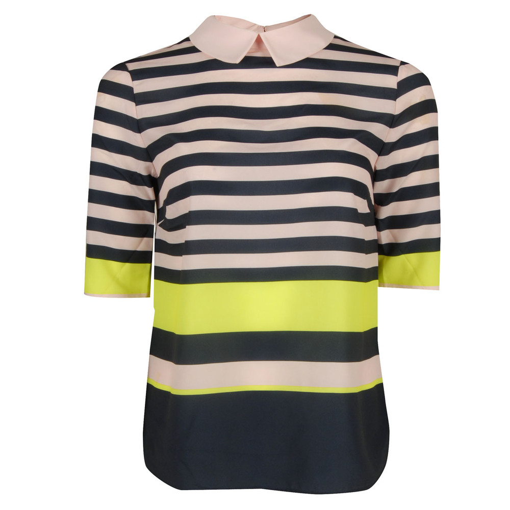 Womens Ted Baker Candy Striped Shirt Top