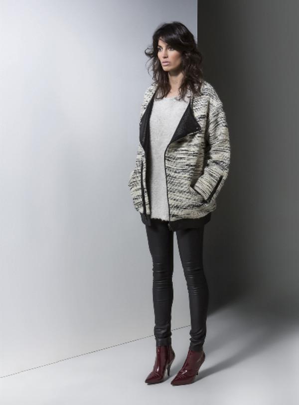 coat lookbook fashion gat rimon pants sweater