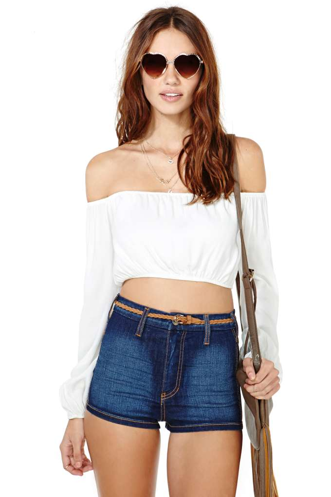 For Love and Lemons Chi Chi Top | Shop Clothes at Nasty Gal