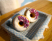 donut earring on Etsy, a global handmade and vintage marketplace.
