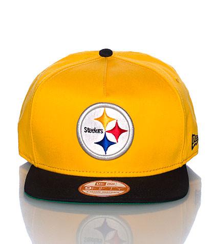 PITTSBURGH STEELERS NFL SNAPBACK CAP - Yellow - NEW ERA   Jimmy Jazz