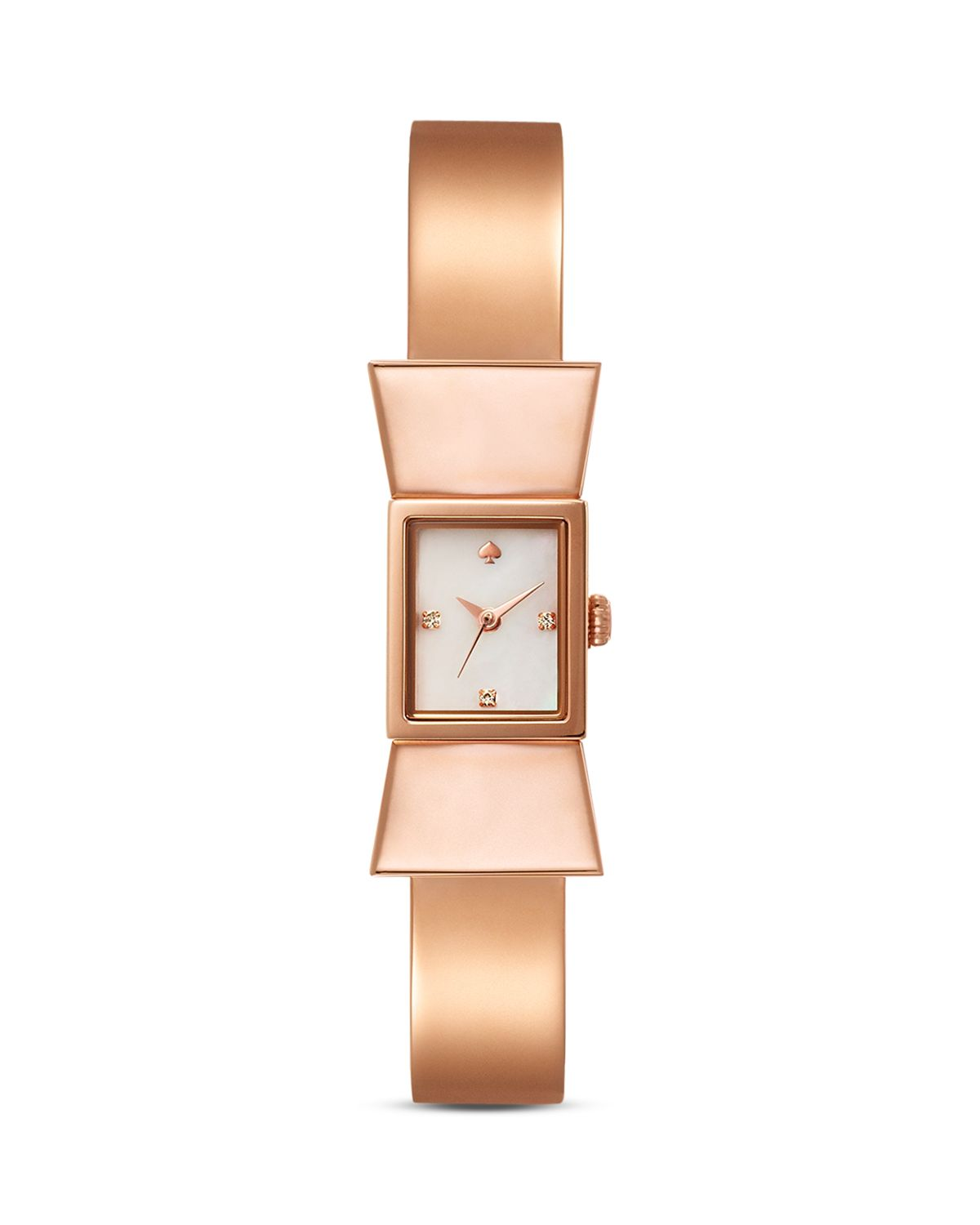 kate spade new york Rose Gold Carlyle Bangle Watch, 15mm | Bloomingdale's