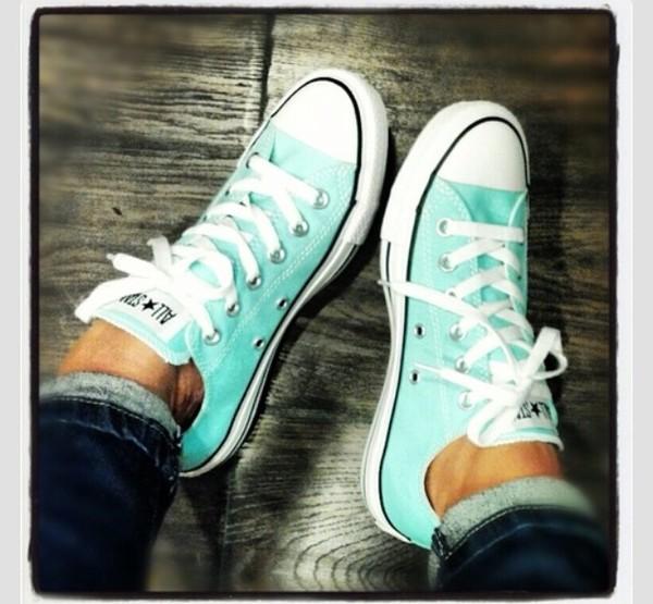 shoes tiffany blue chuck taylor all stars
