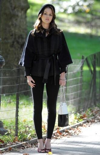 gossip girl jacket blair waldorf coat blouse
