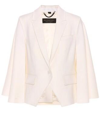 jacket wool white