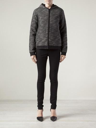 T By Alexander Wang Zip Up Jacket -  - Farfetch.com
