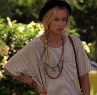 jewels ivy sullivan t-shirt 90210 hat
