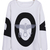 White and Black BOY OWL Print Round Neck Pullover Sweatshirt - Sheinside.com