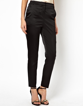 ASOS | ASOS Pants In Satin at ASOS