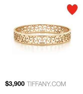 jewels tiffany bracelets gold