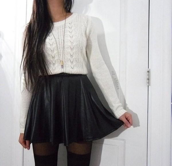 skirt grunge black pretty cute kawaii nice cool soft grunge leather pastel pastel goth pastel grunge